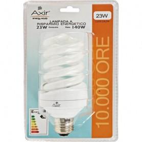 AXIR LAMPADINA RISPARMIO ENERGETICO LAMPADA SPIRALE 23W E27 LUCE CALDA