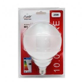 AXIR LAMPADINA RISPARMIO ENERGETICO LAMPADA GLOBO 25W E27 LUCE CALDA