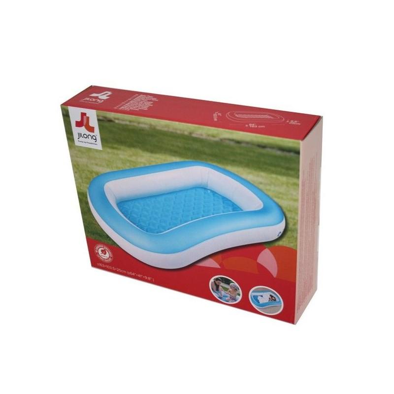 Piscina gonfiabile per bambini capacita 39 155 lt bianco e azzurra md webstore - Bambini in piscina a 3 anni ...