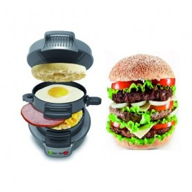 KITCHEN LIFE MISTER BURGER MACCHINA CUOCI HAMBURGER 600W