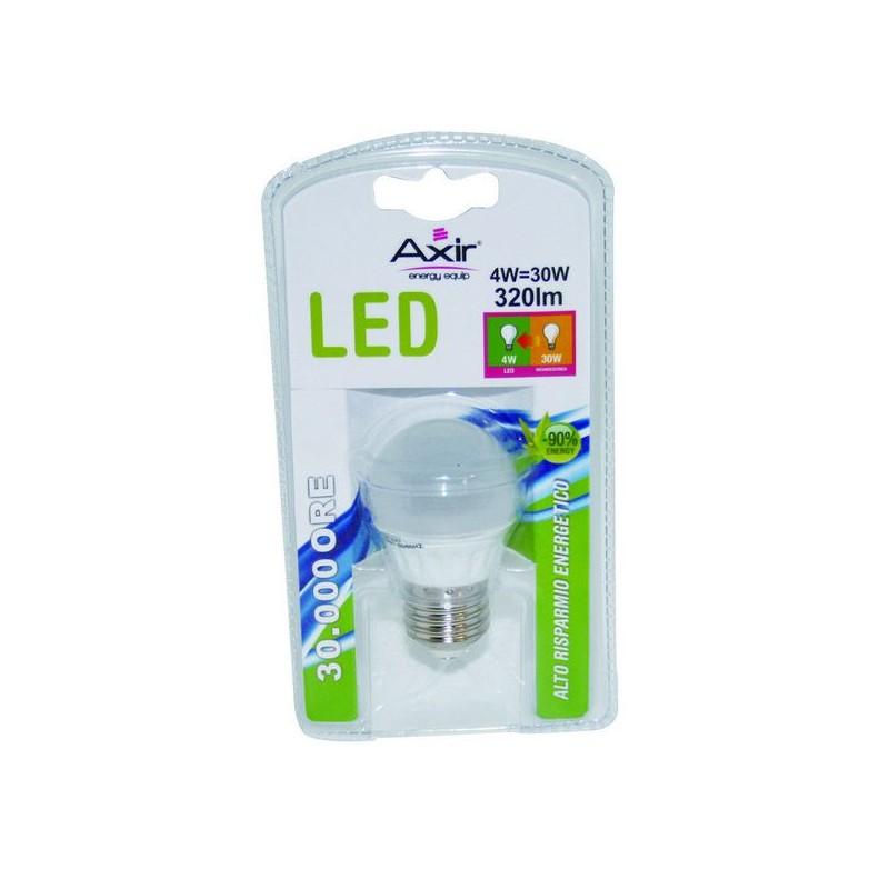 AXIR LAMPADINA 10 LED LAMPADA GLOBO 4W E27 LUCE CALDA