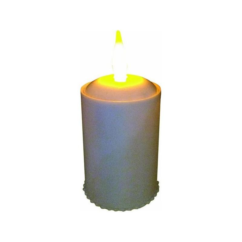 CANDELA LED CON FIAMMA A BATTERIA 9.5x4.5 CM