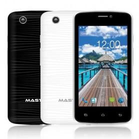 SMARTPHONE 4 POLLICI FWVGA MASTER 402 DUAL CORE 4GB 4.4.2 DUAL CAMERA COLORE BIANCO