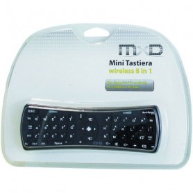TASTIERA WIRELESS TELECOMANDO SMART TV 8 IN 1 MXD