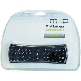 TASTIERA WIRELESS TELECOMANDO SMART TV 8 IN 1 MXD