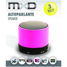 MXD ALTOPARLANTE SPEAKER BLUETOOTH MULTIMEDIALE INGRESSO SD