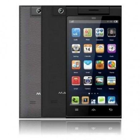 SMARTPHONE 4.7 POLLICI QHD MASTER 470S DUAL SIM QUAD CORE 8GB ANDROID 4.4 FOTOCAMERA ORIENTABILE COLORE NERO