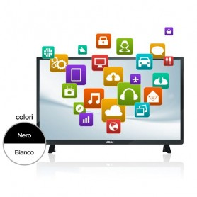 "SMART TV AKAI 32"" FULL HD BIANCO"