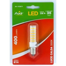 LAMPADINA LED 5W, ATTACCO E14, LUCE CALDA