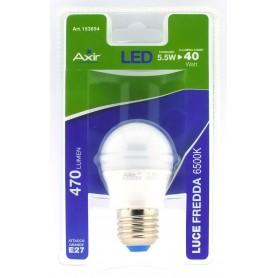 LAMPADINA LED 5.5W, ATTACCO E27, LUCE FREDDA