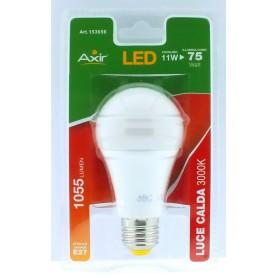 LAMPADINA LED 11W, ATTACCO E27, LUCE CALDA