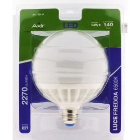 LAMPADINA LED 24W, ATTACCO E27, LUCE FREDDA