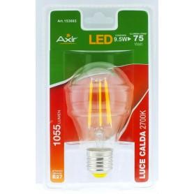 LAMPADINA LED 9.5W, ATTACCO E27 ,LUCE CALDA