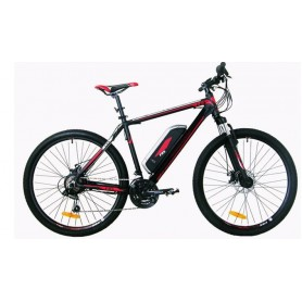 MOUNTAIN BIKE ELETTRICA 21 VELOCITÁ ROSSA
