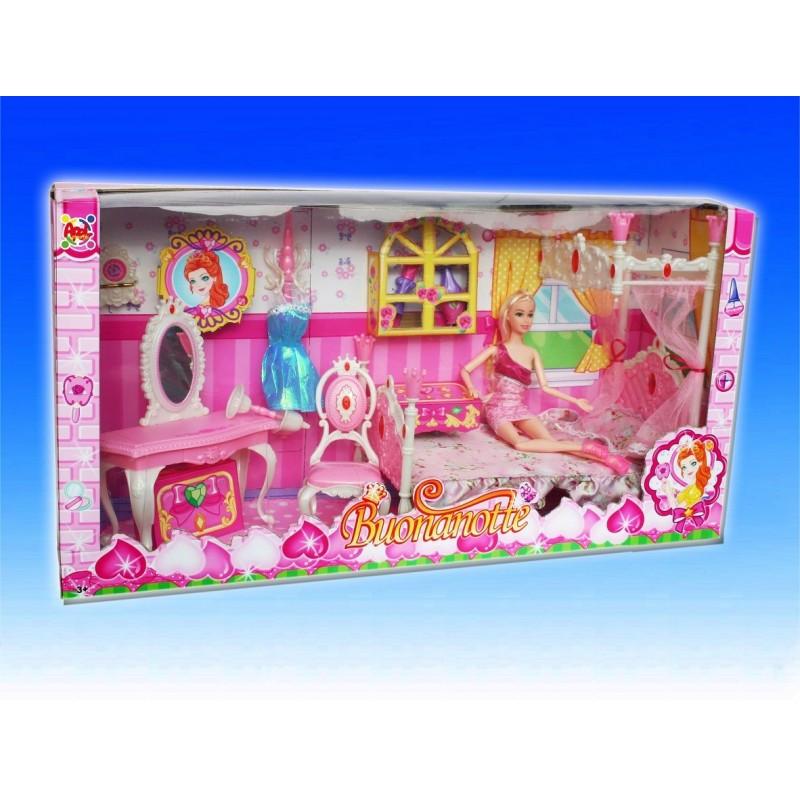 Camera da letto con bambola - Camera da letto con tv ...