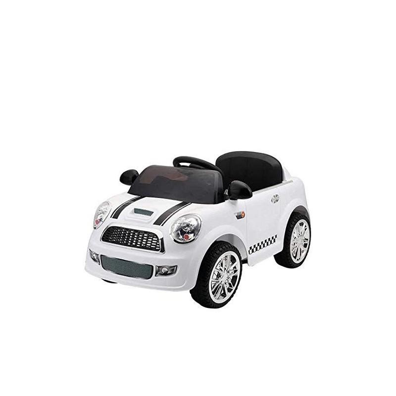 Auto Elettrica Mini Bianca Per Bambini Md Webstore