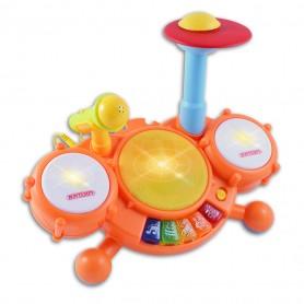 BONTEMPI - BABY DIGITAL DRUM CON MICROFONO