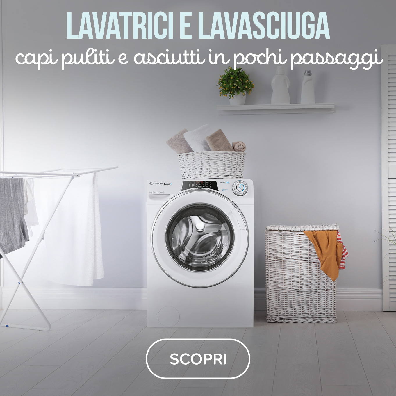 Lavatrici e lavasciuga