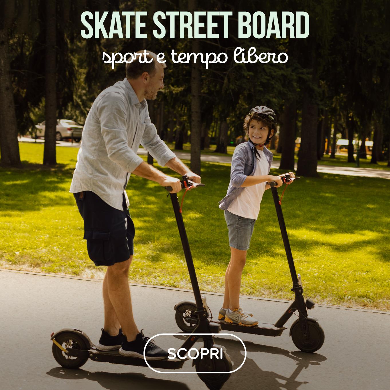 Skate street board