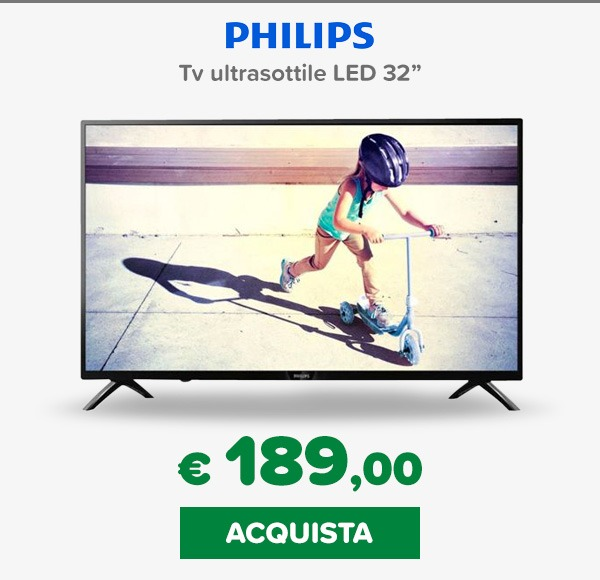 Philips tv 32 pollici