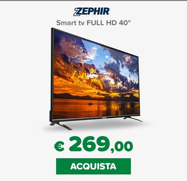 Zephir tv 40 pollici
